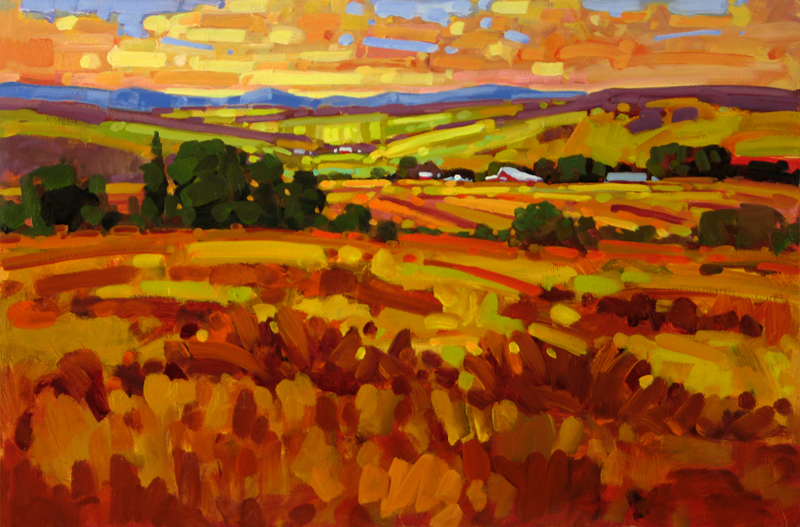 Western landscape paintings ken gillespie sfca for Best art websites for artists